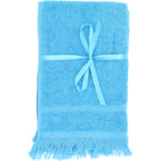 Fringed Guest Towel Set Sea Green 2 Piece