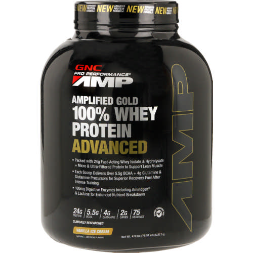 Pro Performance AMP Amplified Gold Whey Protein Vanilla Ice Cream 2227.5g