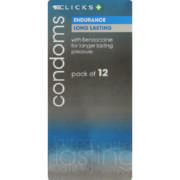 Condoms Endurance 12 Pack