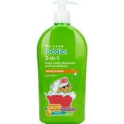 Toddler 3-in-1 Body Wash, Shampoo And Conditioner Mango 750ml