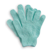 Bath Gloves Light Turquoise