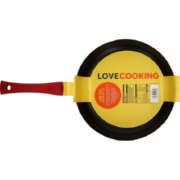 Non-Stick Aluminium Frying Pan 26cm Red