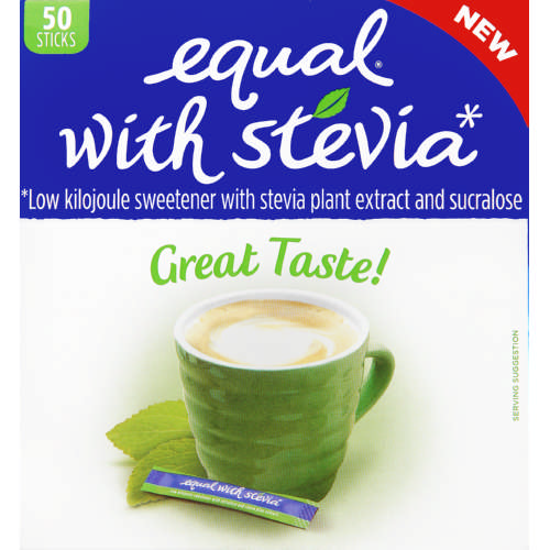 Stevia Sweetener Sticks 50 Tablets