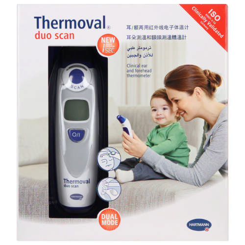 Ear and Forehead Thermometer