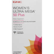 Women's Ultra Mega 50 Plus Dietary Supplement 60  Caplets