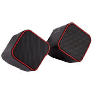 Diamond Series USB Speaker Red