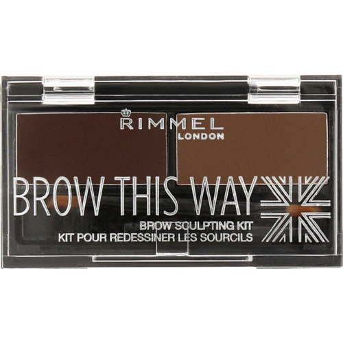 Rimmel Brow This Way Brow Sculpting Kit - Medium Brown