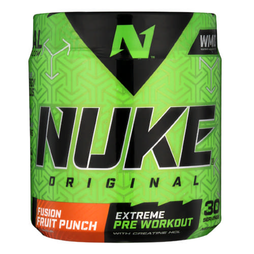 Nuke Original Fusion Fruit Punch