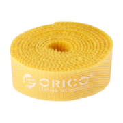 1 Meter Velcro Cable Ties Yellow