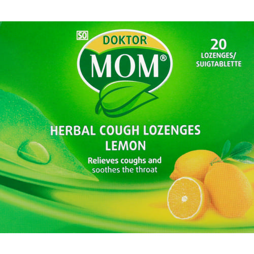 Herbal Lozenges Lemon 20 lozenges
