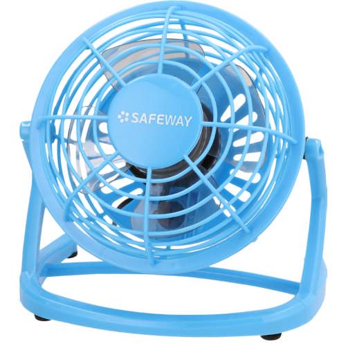 10cm Usb Desk Fan Blue
