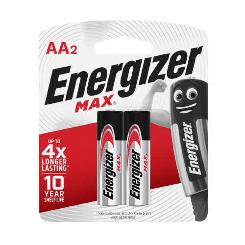 Max 2 AA Batteries