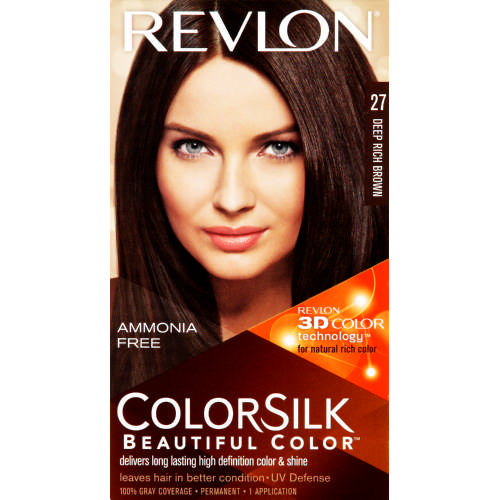 Colorsilk Beautiful Color Deep Rich Brown 27 Test