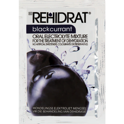 Oral Electrolyte Mixture Blackcurrent 14g
