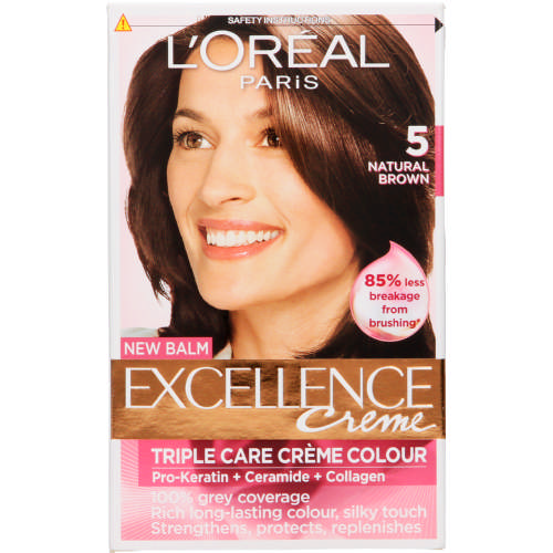 Excellence Creme Hair Colour Natural Brown 5
