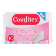 Soft Ultra Pads Unscented 10 Pads