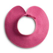 Rolled Beach Hat Cerise