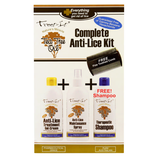 Complete Anti-Lice Kit