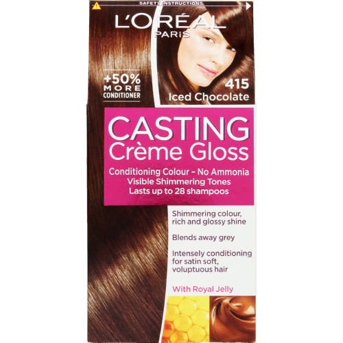 Casting Creme Gloss Conditioning Hair Colour Iced Chocolate 1 Application