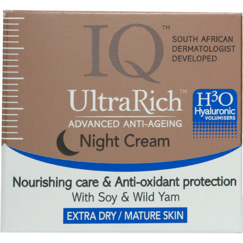 UltraRich Advanced Anti-Ageing Night Cream Extra Dry & Mature Skin 50ml