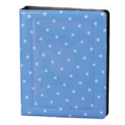 Instax Mini Vinyl Album Dots 32 Photos Cobalt Blue