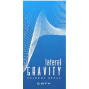 Gravity Cologne Spray Lateral 100ml