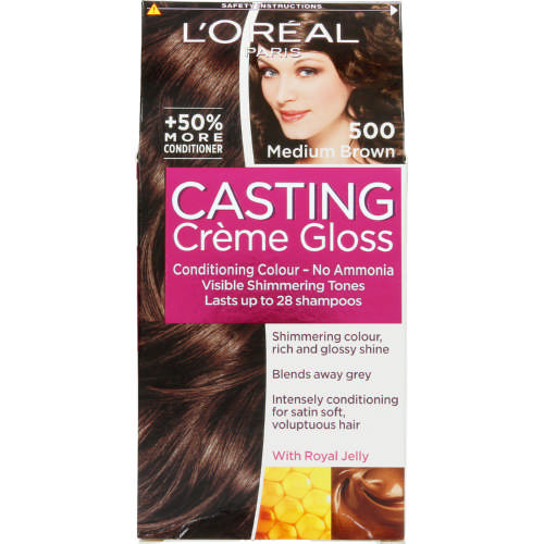Casting Creme Gloss Semi-Permanent Conditioning Colour Brown 500