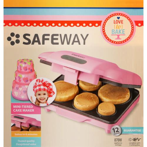 safeway tiered cake maker clicks