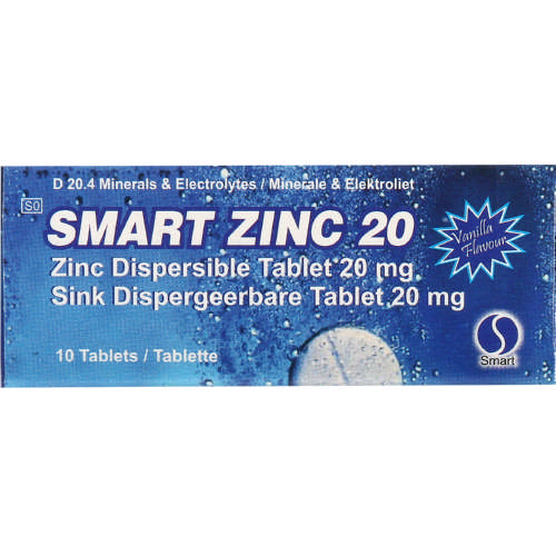 20mg Dispersible Tablets 10 Tablets