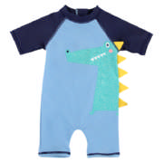 Boys Croc Swimsuit 3-6 months