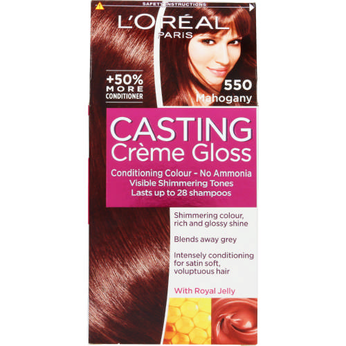 Casting Creme Gloss Semi-Permanent Conditioning Colour Mahogany 550