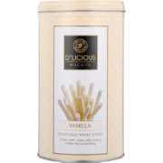 Wafer Sticks Vanilla 370g