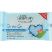 On the go Hygiene Hand wipes 10s
