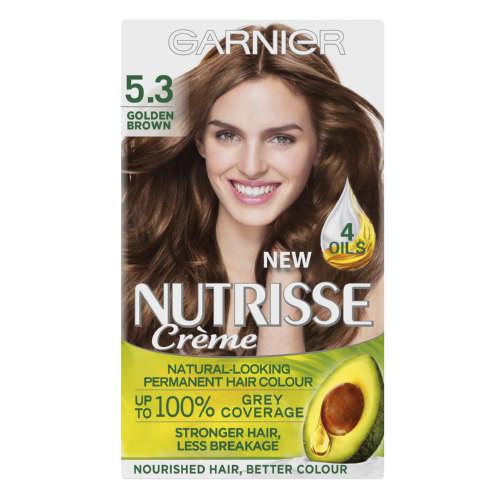 Garnier Nutrisse Creme Hair Colour 5 3 Golden Brown 1 Application