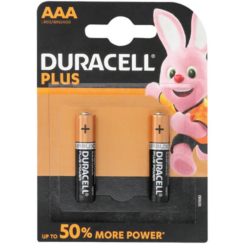 Plus Power AAA Batteries 2-Pack