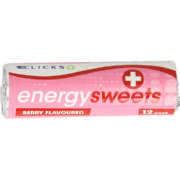 Energy Sweets Berry 12 Pack