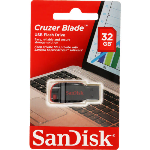 Cruzer Blade USB Flash Drive 32GB