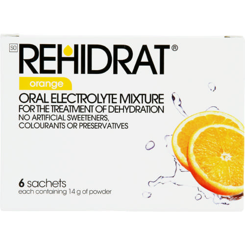 Oral Electrolyte Mixture Orange 6 Sachets
