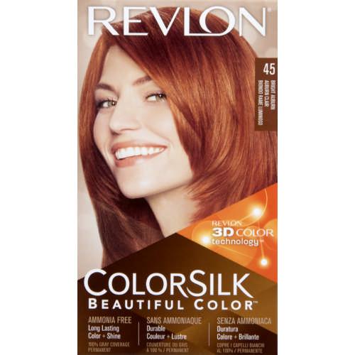 Revlon Colorsilk Hair Colour Bright Auburn - Clicks