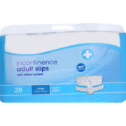 Incontinence Adult Slips Super Large 28 Slips