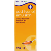 Cod Liver Oil Emulsion Orange 200ml