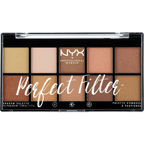 Perfect Filter Eyeshadow Palette Golden Hour