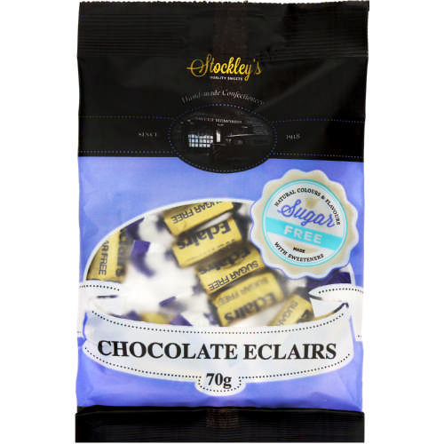 Sweet Memories Hand Made Confectionery Chocolate Eclairs 70g