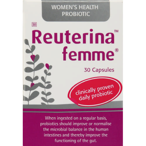Women S Health: Reuterina Femme Women's Health Probiotic 30 Capsules