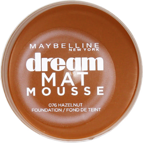 Dream Matte Mousse Foundation Hazelnut 18g