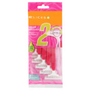 Women's Twin Blade Disposable Razors 5 Pack