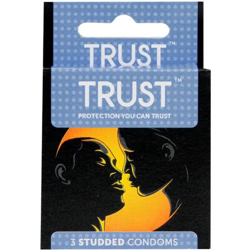 Trust Condoms Studded 3 Condoms Clicks