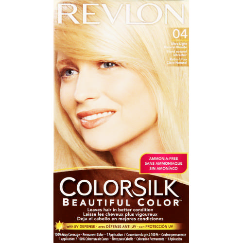 ColorSilk Permanent Hair Color Ultra Light Natural Blonde 04
