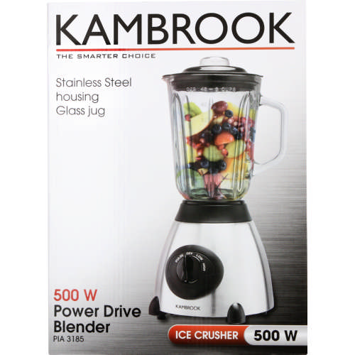 Kambrook Glass Jug Blender 500w Clicks