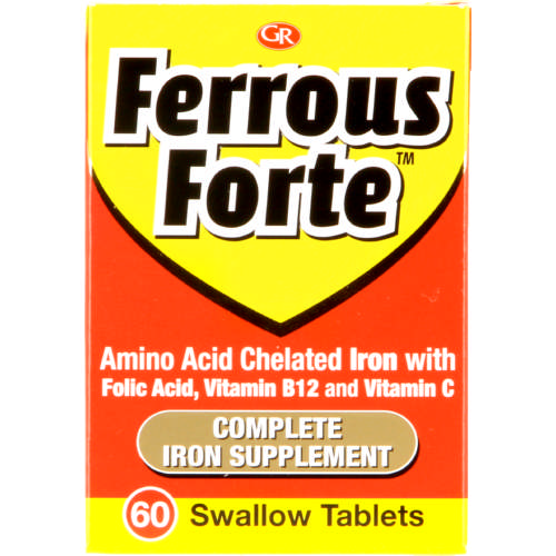 Iron Tablets 60 tablets